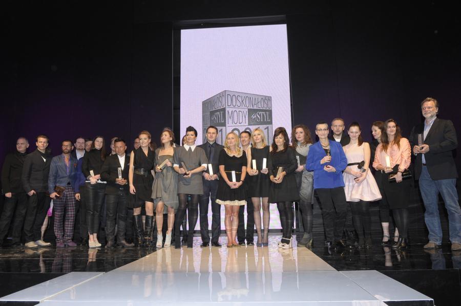 Zwycięzcy w konkursie Doskonałość Mody 2011 \