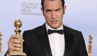 """Jean Dujardin ze Złotym Globem za """"Artystę"""""""