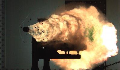 """US Navy """"railgun"""" / Działo kinetyczne"""