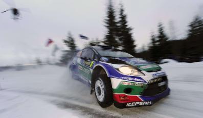 Jari-Matti Latvala (Ford Fiesta RS) zwyciężył w stanowiącym drugą rundę mistrzostw świata Rajdzie Szwecji