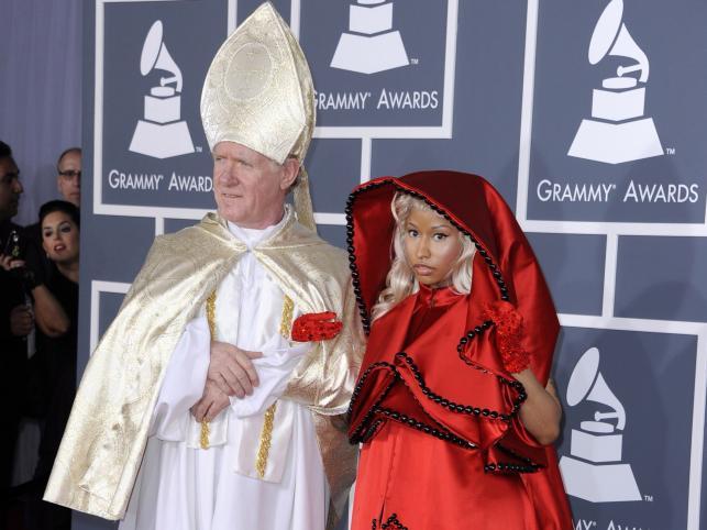 Nicki Minaj w niecodziennej stylizacji