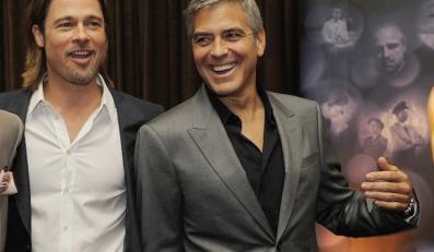 """Brad Pitt i George Clooney wezmą udział w projekcie """"Propozycja 8"""""""