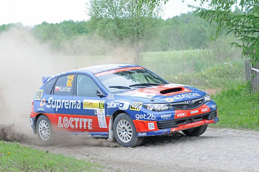 Wicemistrz Polski Tomasz Kuchar (Statoil-Loctite Rally Team) będzie rywalizować najnowszym modelem Subaru - imprezą WRX STi N14