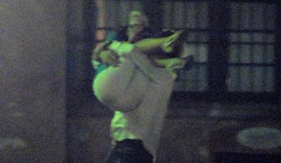 Rinke nosił Herbuś na rękach