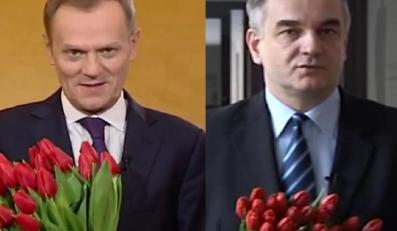 Donald Tusk kontra Waldemar Pawlak. Z okazji dnia kobiet