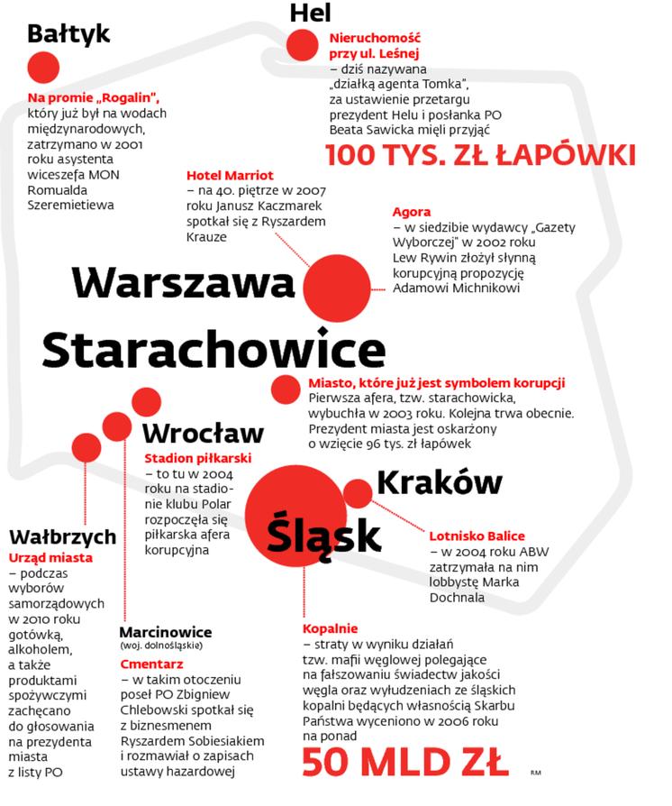 Korupcyjna mapa Polski