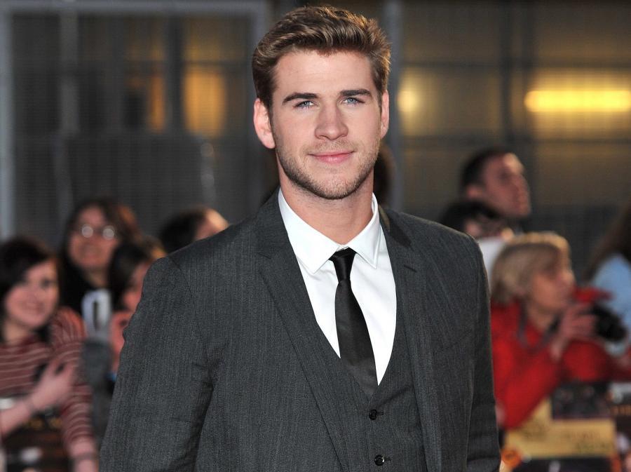 Liam Hemsworth w Londynie