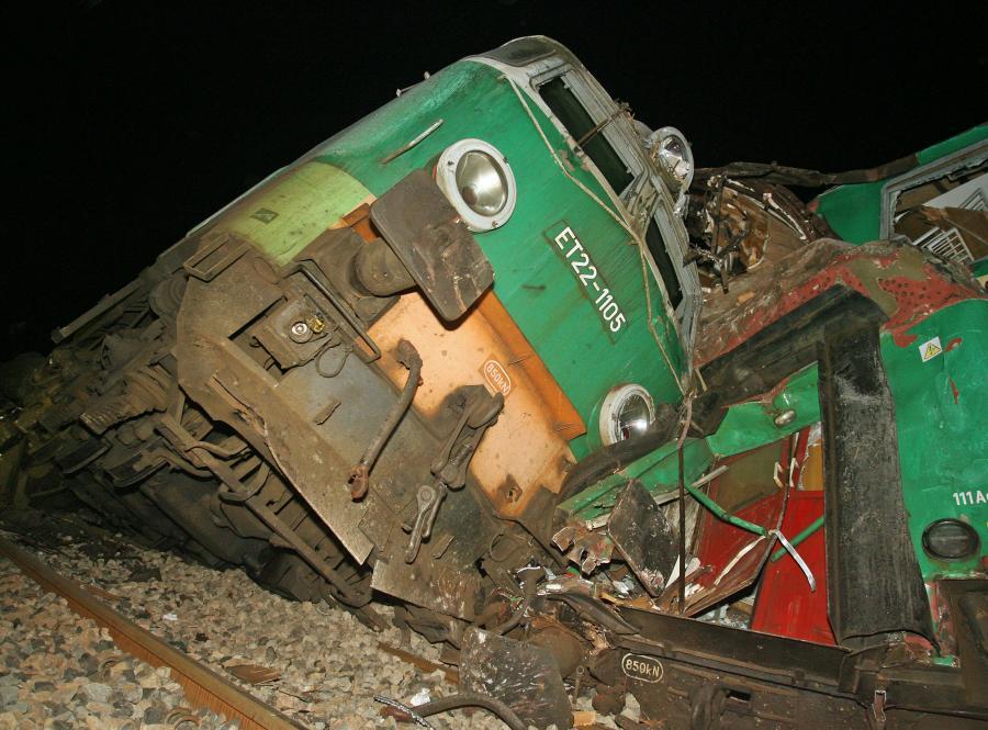 Katastrofa kolejowa koło Szczekocin