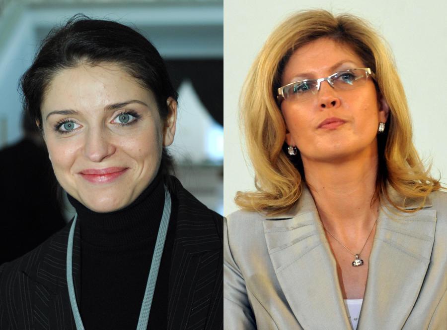 Joanna Mucha i Iwona Arent