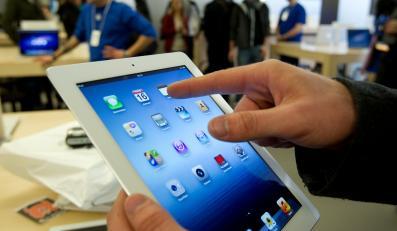 Nowy iPad w sklepie Apple'a
