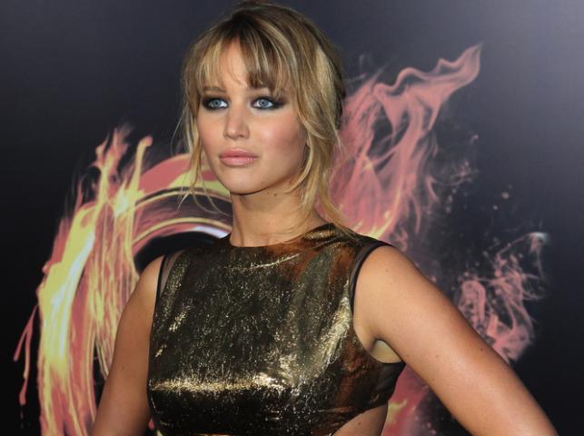 """Jennifer Lawrence na amerykańskiej premierze """"Igrzysk śmierci"""" w Los Angeles –12 marca 2012"""