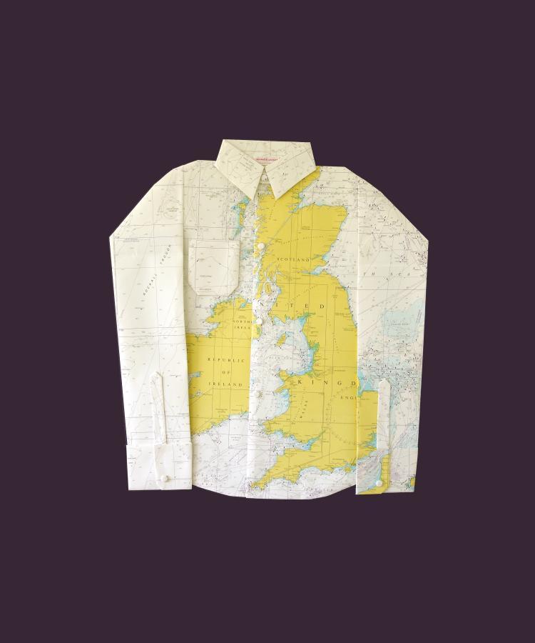 Koszula dla podróżujących po Wyspach Brytyjskich