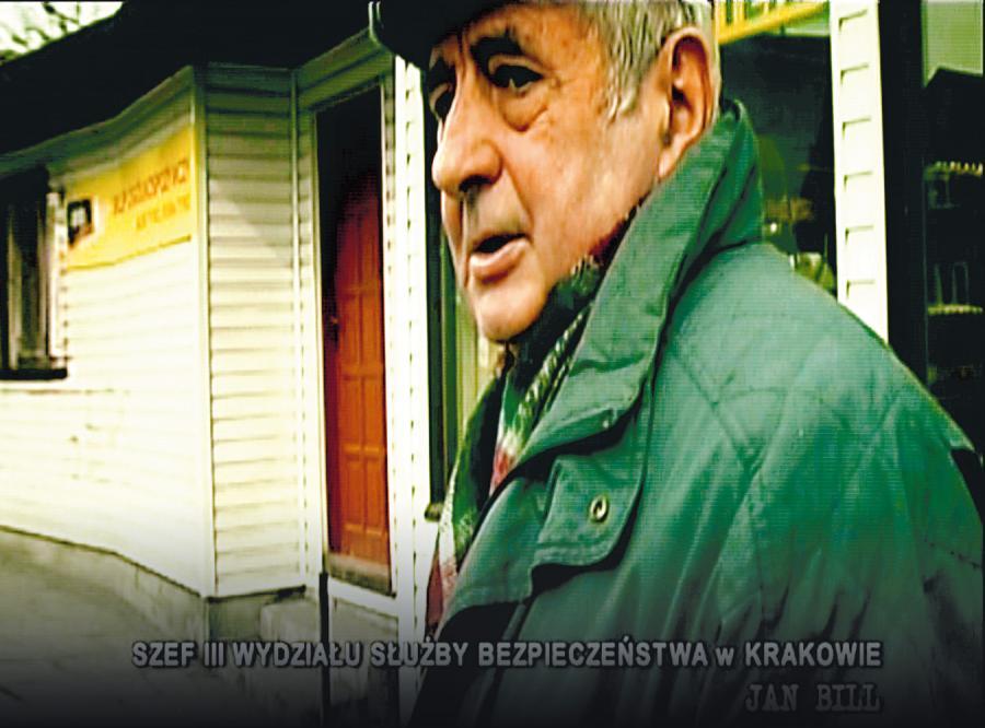 Pułkownik Jan Bill, były szef krakowskiej bezpieki, ma dzisiaj prawie 5 tys. zł emerytury