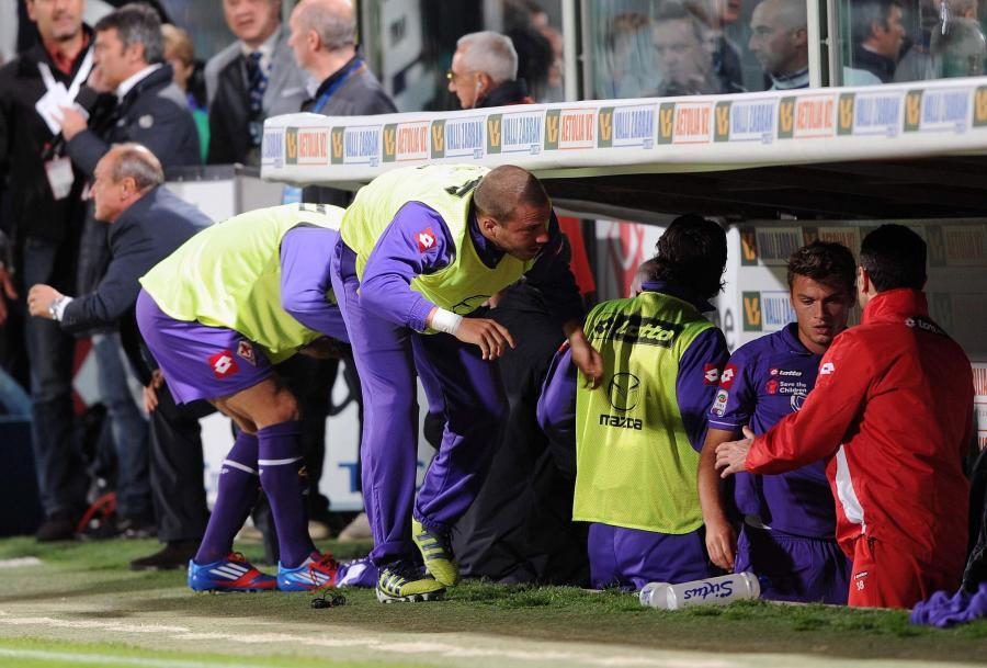 Delio Rossi zaatakował piłkarza