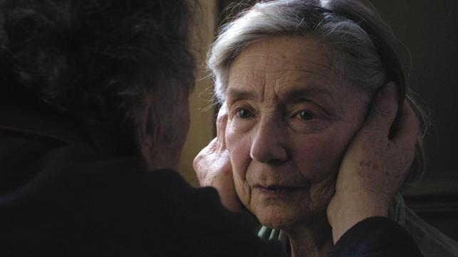 "Emmanuelle Riva w filmie ""Miłość"""