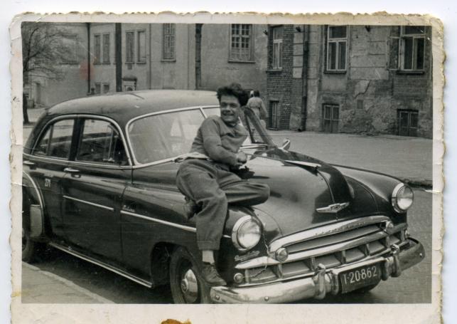 Chevrolet - taksówka lubelska, lata 60.