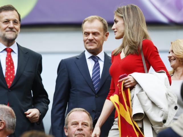 Księżna Letizia i Donald Tusk