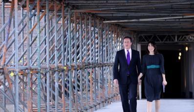 Samanta i David Cameron