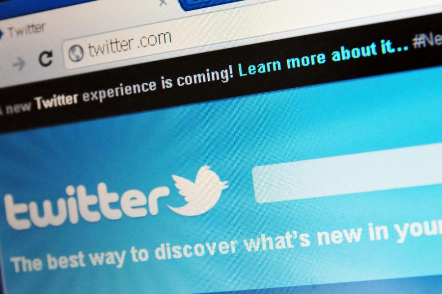 Strona Twittera