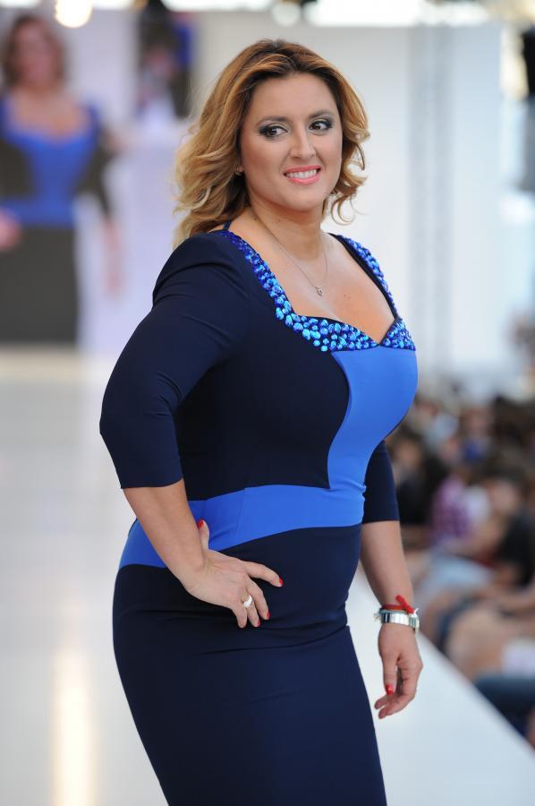 Karolina Szostak na Warsaw Fashion Street 2012