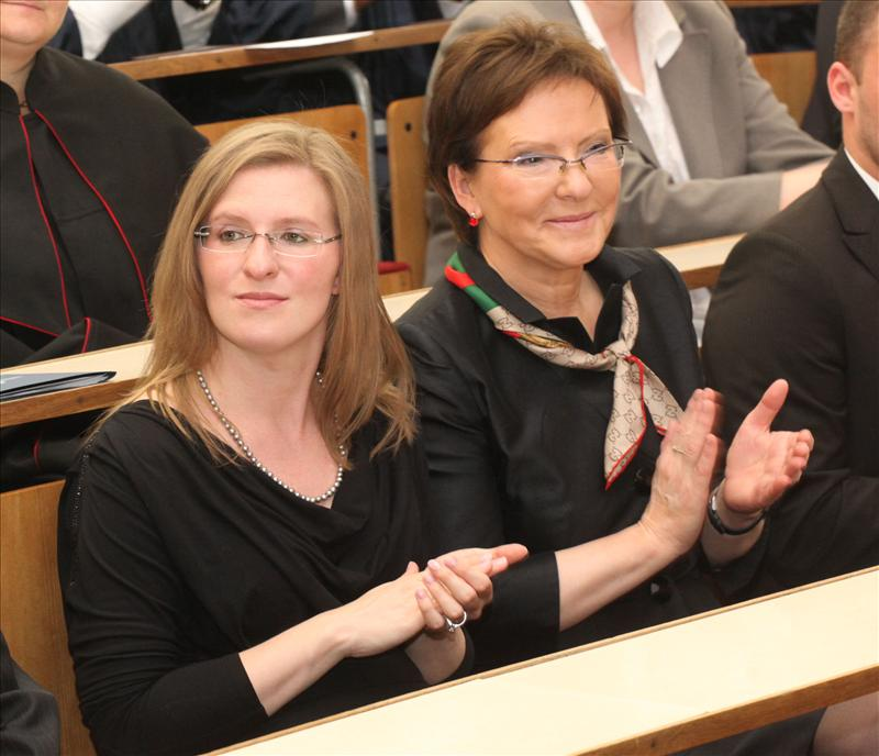 Ewa Kopacz z córką