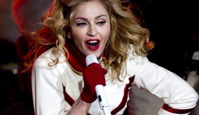 Madonna podczas koncertu w Rzymie