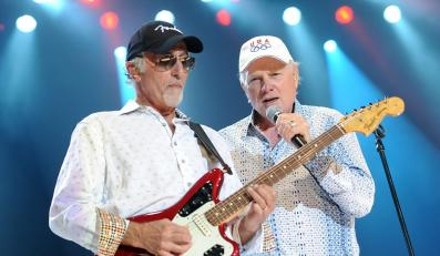 The Beach Boys podczas koncertu w Berlinie