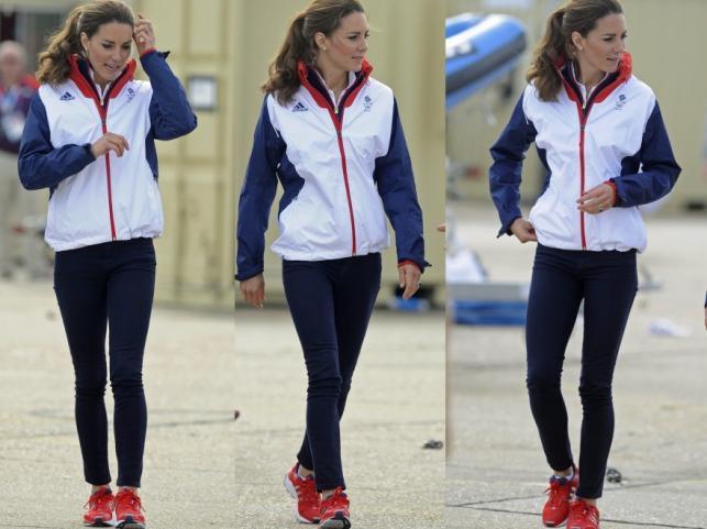 Księżna Catherine w sportowym wydaniu