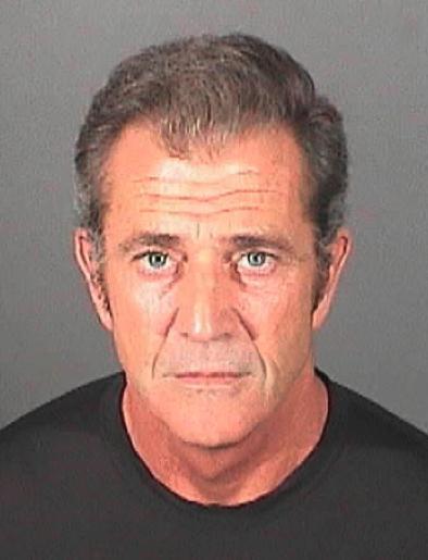 Gwiazdy w kartotekach policyjnych - Mel Gibson