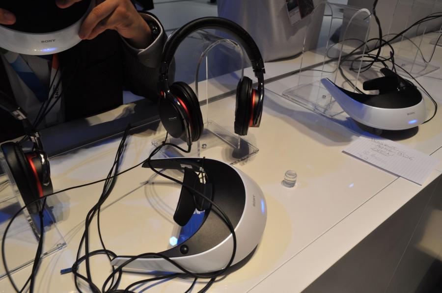 Wirtualny hełm Sony