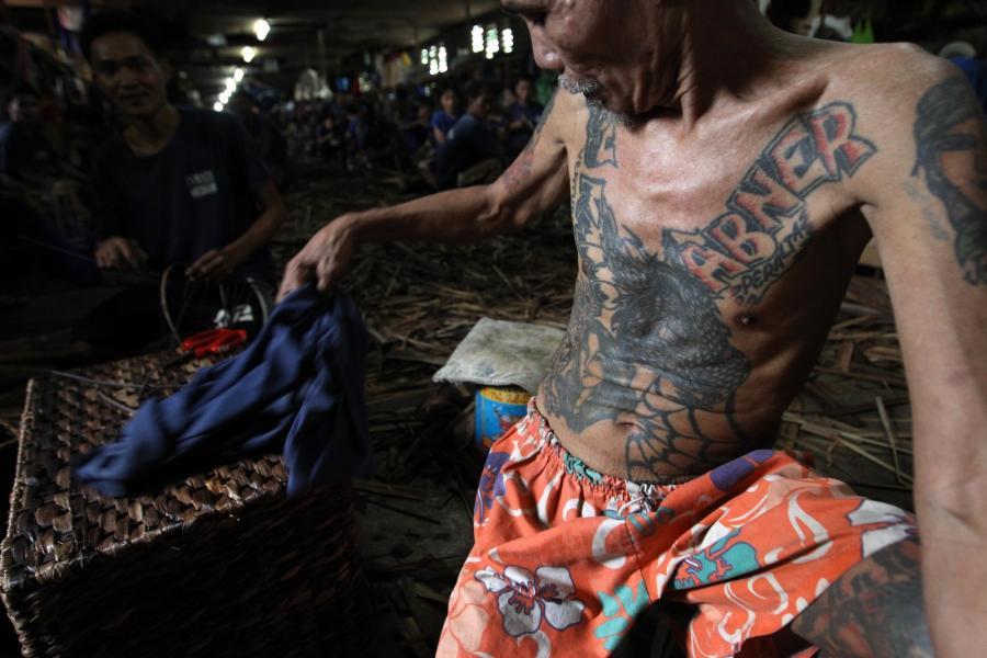 Zdjęcia Tatuaże Filipińskich Więźniów Strona 4 Wakacje