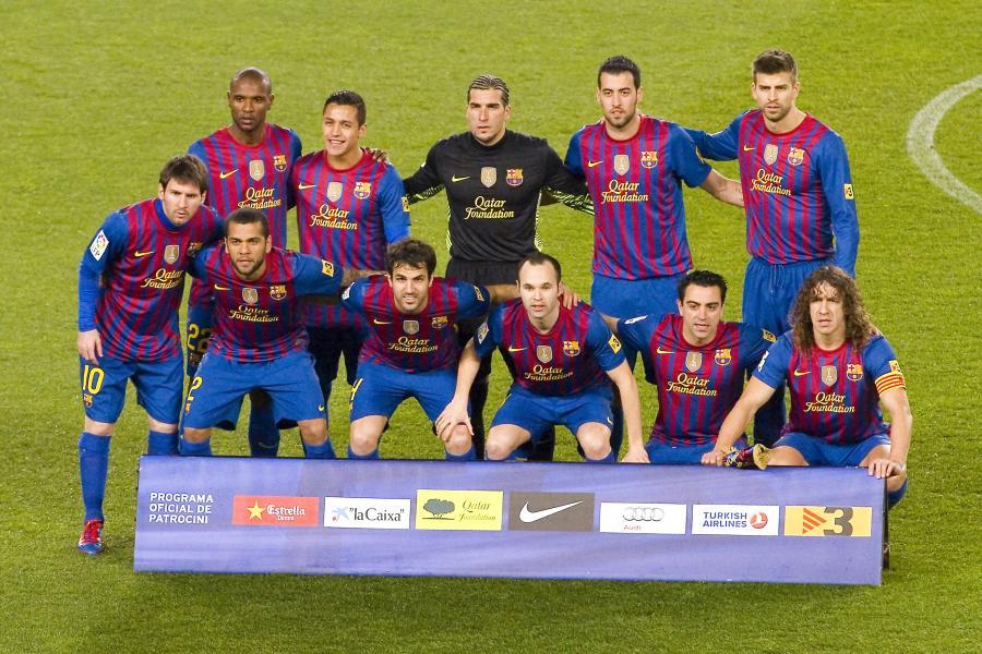 35d39eb8b Piłkarze FC Barcelona od nowego sezonu po raz pierwszy w historii zagrają w  katalońskich barwach. Drugi zestaw strojów będzie miał złoto-czerwone barwy  ...