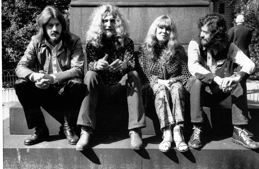 Led Zeppelin w 1970 roku