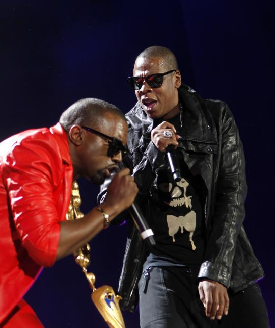 Najlepszy wykonawca hip-hopowy: Jay-Z & Kanye West