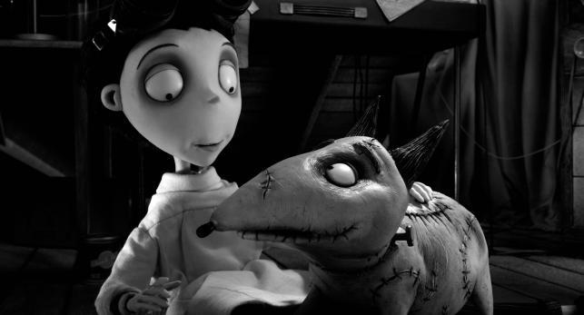"""""""Frankenweenie"""" –Victor i jego przyjaciel Sparky"""