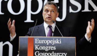 Viktor Orban na kongresie w Katowicach