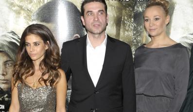 Weronika Rosati, Marcin Dorociński i Sonia Bohosiewicz