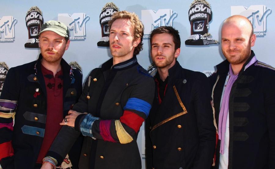 Zespół Coldplay przygotował komiks