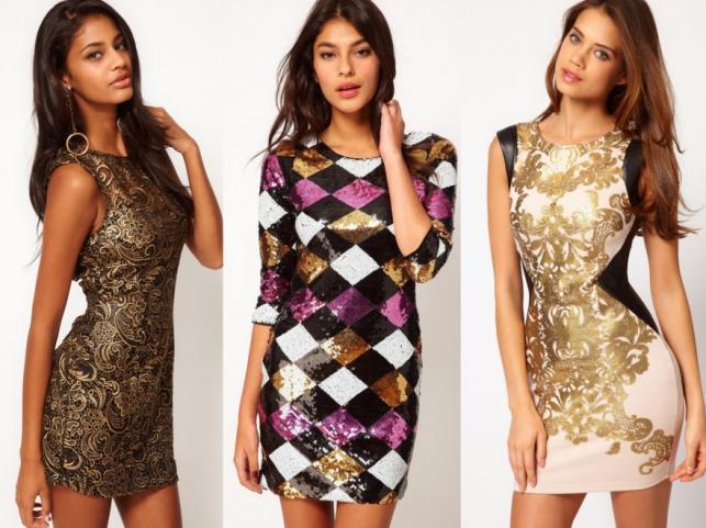 Modne sukienki na Andrzejki 2012