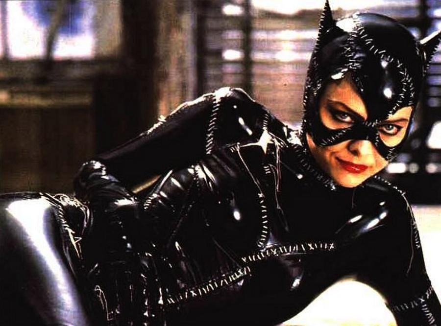 "Michelle Pfeiffer jako Kobieta Kot w ""Powrocie Batmana"" (1992)"