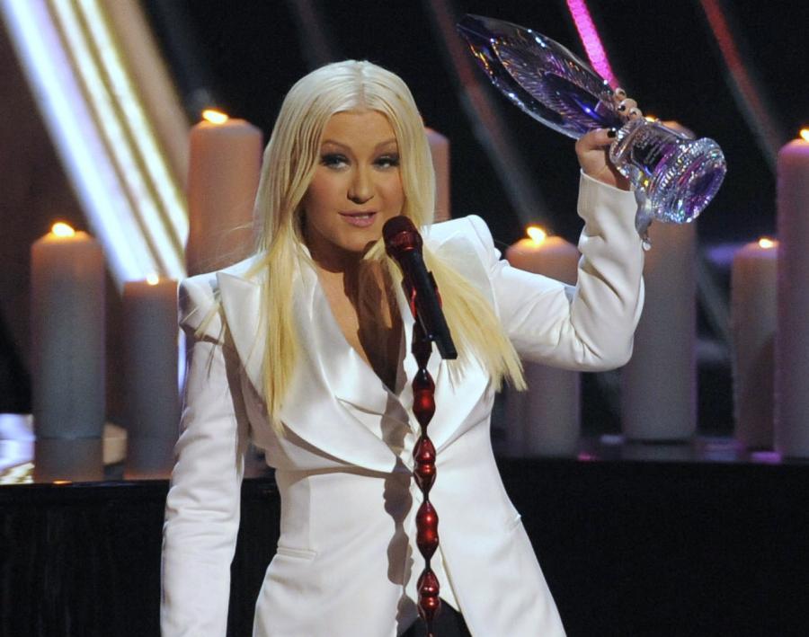 Christina Aguilera nagrodzona People's Voice Award za całokształt twórczości
