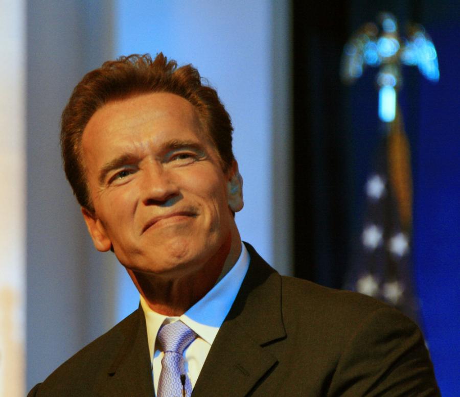 Arnold Schwarzenegger lepszym aktorem
