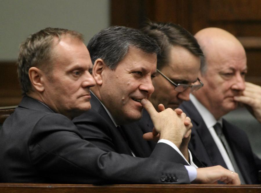 Donald Tusk i ministrowie