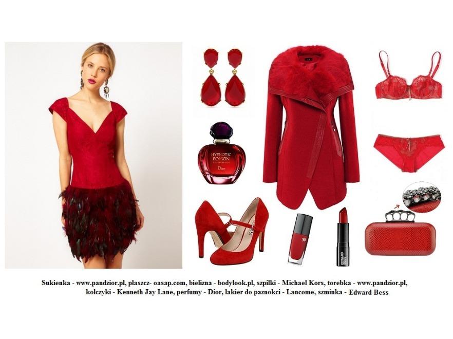 Modne stylizacje na Walentynki 2013