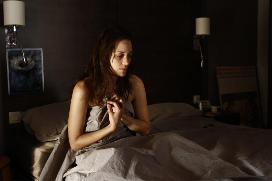 "Marion Cotillard w filmie ""Rust and Bone"""