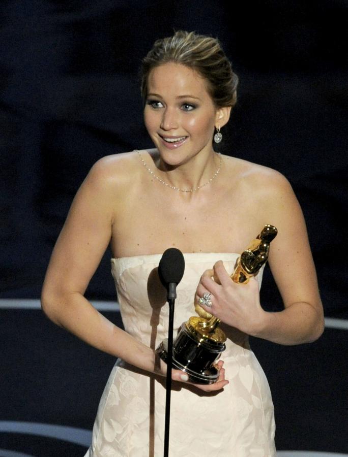 Jennifer Lawrence –najlepsza aktorka pierwszoplanowa
