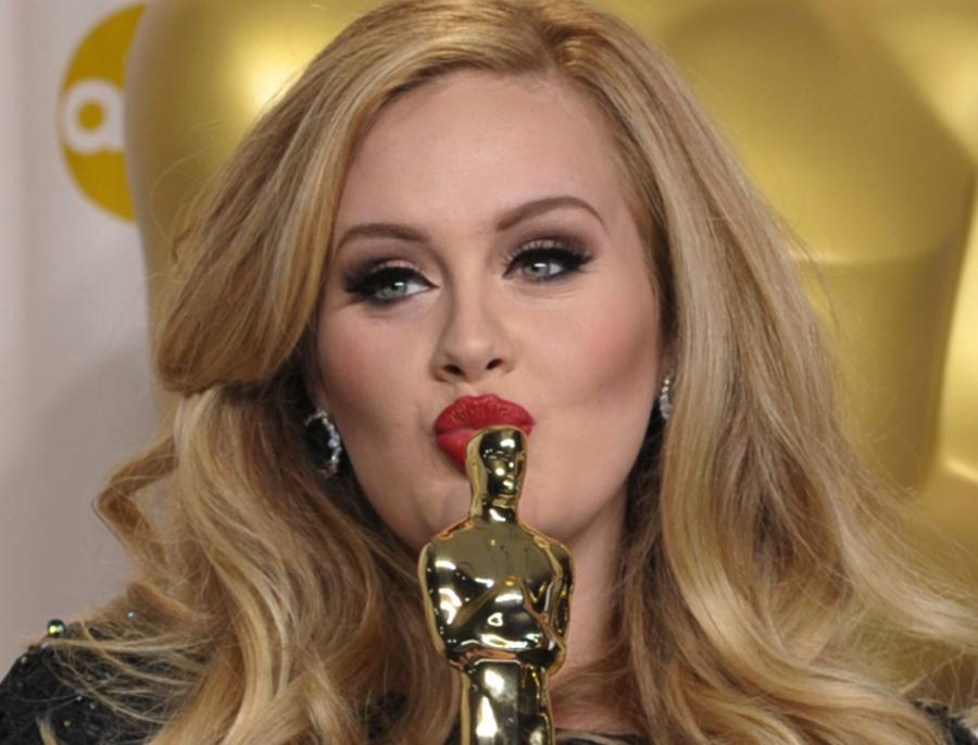 Adele i jej pierwszy Oscar