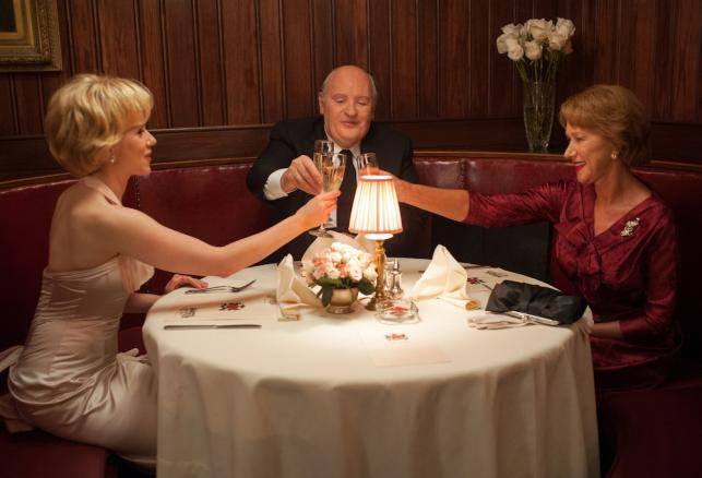 "Scarlett Johansson, Helen Mirren i Anthony Hopkins w ""Hitchcocku"""