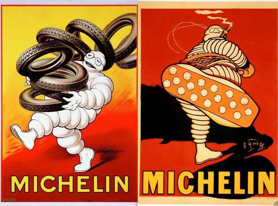 Plakaty Michelin