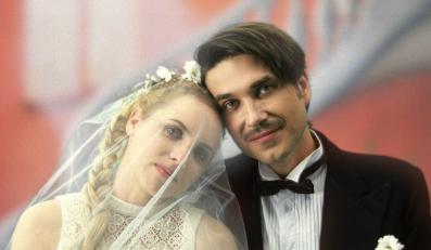 Ślubne zdjęcia Marcina Dorocińskiego i Julii Kijowskiej